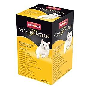 animonda Vom Feinsten Adult Katzenfutter, Nassfutter für ausgewachsene Katzen 7