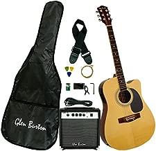 Glen Burton GA204BCO-NT Acoustic Electric Cutaway Guitar, Natural