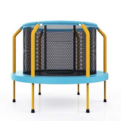 YUMO Trampolín para niños de 4 pies, con Red de Seguridad, colchoneta de Salto y Cubierta de Muelle para el Marco, trampolín Redondo para Interior/Exterior, Actividad Deportiva de Entrenamiento