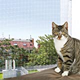 Trixie Filet de Protection Transparent pour Chat, 6 × 3 m