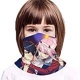 TUCBOA Neck Gaiter,Sword Art Online Embroma El Abrigo Principal, Protectores Faciales Decorativos del Deporte para El Funcionamiento Que Acampa,20x35cm