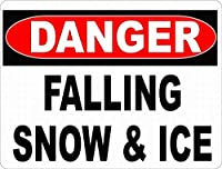 危険降る雪氷ティンサイン壁鉄の絵レトロプラークヴィンテージ金属板装飾ポスターおかしいポスター吊り工芸品バーガレージカフェホーム