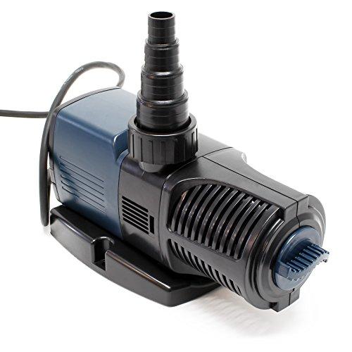 SunSun JTP-4000 SuperECO Teichpumpe mit 4000l/h 25W für Teiche und Bachläufe