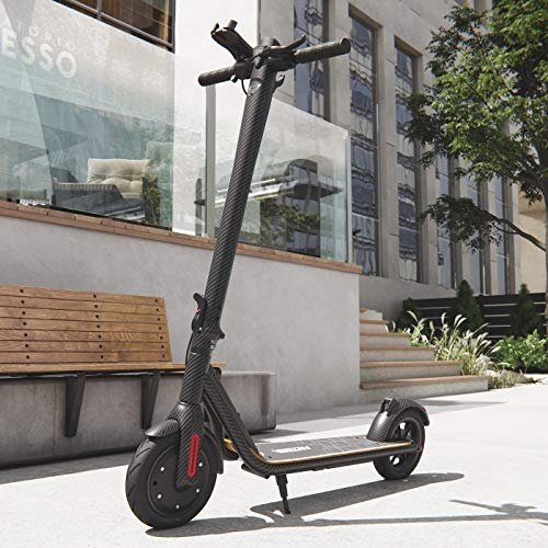 Viron Elektro Scooter 700 W Escooter mit APP & Bluetooth Roller Elektroroller Faltbar Aluminium E-Scooter (schwarz/grau)