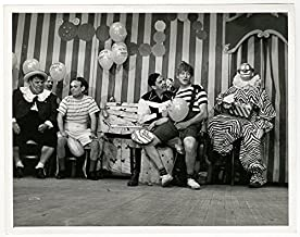 Vintage 1949 Classic American Television Photo Texaco Star Theatre Family Comedy Fatso Marco Buffalo Bob Smith Milton Berl...