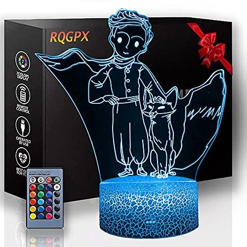 Luz de noche 3D USB Powered Anime Regalos perfectos para niños y decoración de habitación Darth Vader personajes