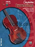 Alfred Orchestra Expressions Book Two Student Edition Violin Book & CD