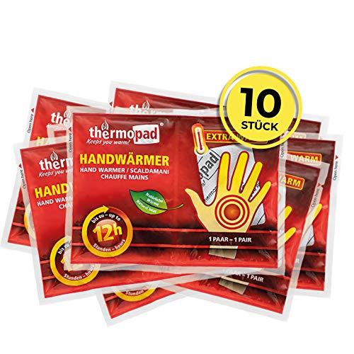 Thermopad Unisex-Adult Handwärmer, Weiß, Alle Größen