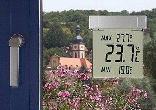 Green Wash Ltd TFA Dostmann Digital Window Thermometer Vision, Multi-Colour, 19.3 x 4.2 x 26.700000000000003 cm