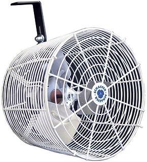 "Schaefer PCTVK12 Versa-Kool High Velocity Greenhouse, 12"" Fan, White"