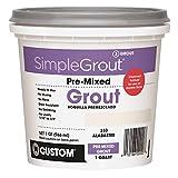 Custom, Alabaster PMG333QT 1-Quart Simple Premium Grout
