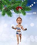 MMA UFC Christmas Ornaments Bobblehead (Miesha Tate)
