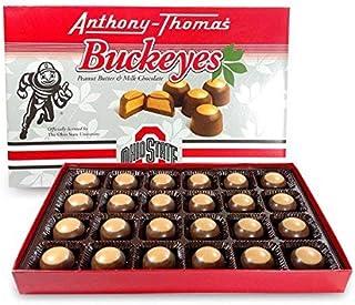 Sponsored Ad - Anthony Thomas, Award Winning Peanut Butter & Milk Chocolate Buckeyes in Ohio State Buckeyes Box, Delicious...