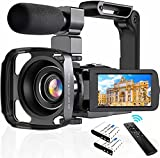 4K Camcorder Digital Video Camera WiFi Vlogging...