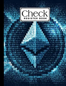 Check Register Book  Check Register Book ethereum Cover A Book to Keep Track of the Checks in Your Accounts Checkbook Register Books Large Print by Daniel Lloyd