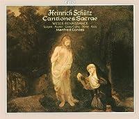 シュッツ:カンツィオーネ・サクレSWV.53~93全曲(1625出版)Op.4(2枚組)