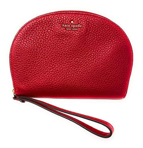 Kate Spade Half Moon Jackson Soft Leather Wristlet (Hotchili)