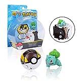Pokemon, Poké Bolas Pokéball, Pokemon Figuras de Acción, Regalos y Fiestas para Niños (Bulbasaur)