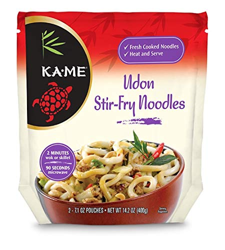 Ka-Me Stir Fry Noodles, Udon, 14.2 Ounce (Pack of 6)