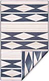 Fab Habitat Reversible Rugs | Indoor or Outdoor Use | Stain Resistant, Easy to Clean...