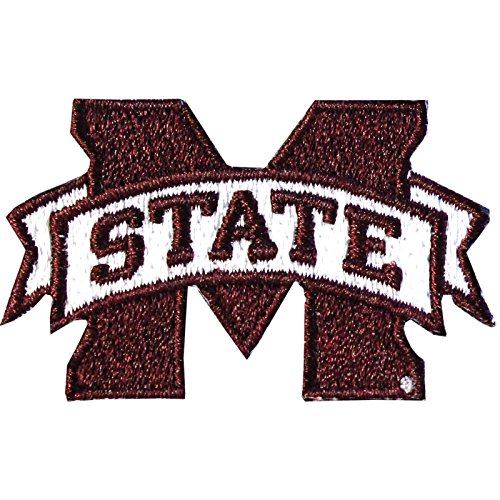Mississippi State Bulldogs NCAA Football Iron On Embroidered Patch
