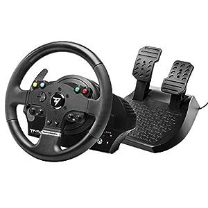 Thrustmaster TMX volante de carreras ergonómico con un juego de 2 pedales – Compatible con Xbox One y PC. Funciona en…