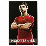 Cristiano Ronaldo Giant Portugal Soccer Beach Towel (180cm x 100cm)