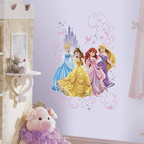 RoomMates Disney Princesas Gigante Pared gráfico