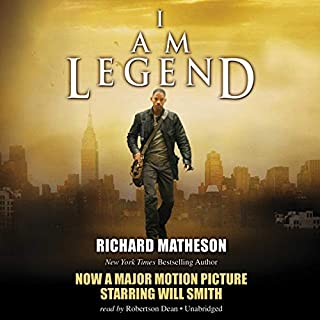 I Am Legend audiobook cover art