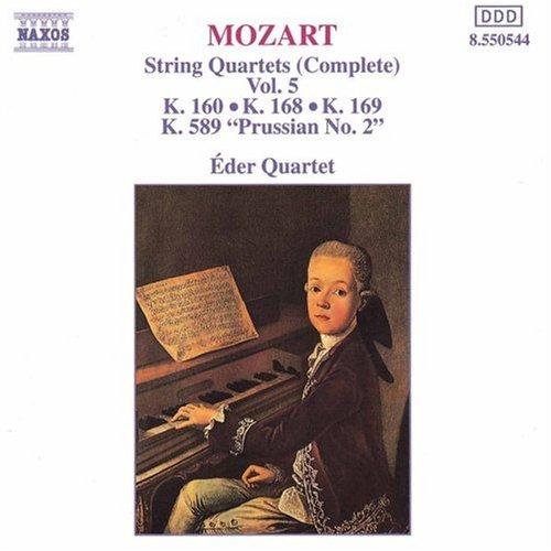 String Quartets 160, 168, 169 & 589 [Importado]