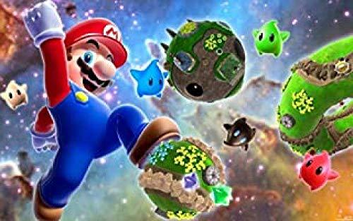 WOMGD® Puzzels 1000 stukjes, houten puzzel, dierlijk kat educatief spel Familie cadeau educatief speelgoed - Mario'S World