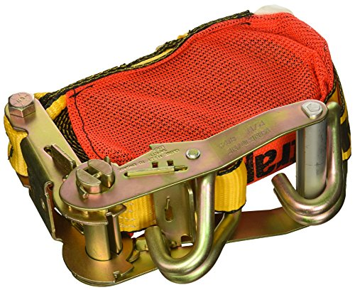 "Kinedyne 513084PAK StrapPak 2"" x 30' Ratchet Strap with Wire Hook and Wide Handle Ratchet"