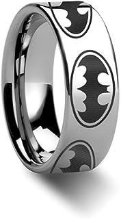 Thorsten Batman Dark Knight | Tungsten Rings for Men |...