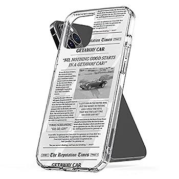 Phone Case Compatible with iPhone Getaway Shock Car Waterproof Newspaper Scratch Accessories 6 7 8 Plus Se 2020 X Xr 11 Pro Max 12 Mini