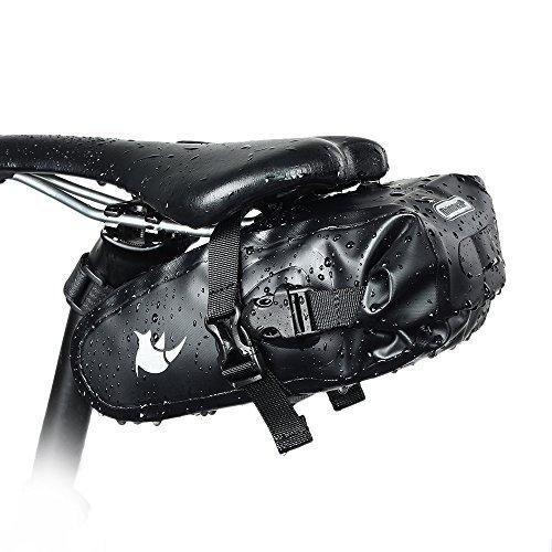 Rhinowalk Bicycle Saddle Bag, Waterproof Bike Bag Under seat Bag Rainproof Mountain Road Bike Seat Bag Bicycle Bag Professional Cycling Accessories