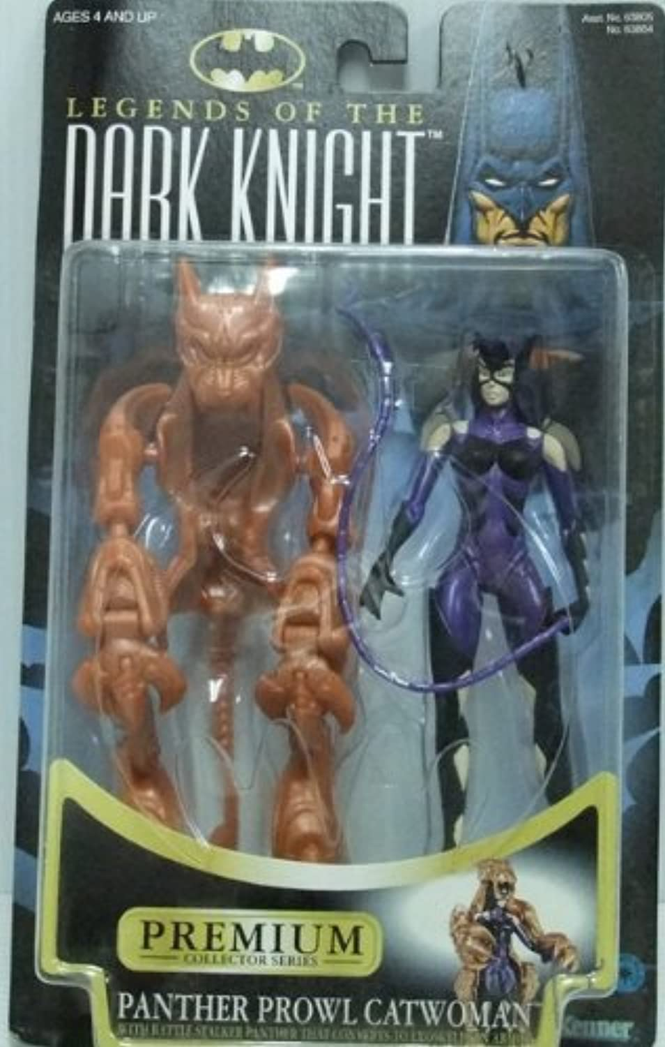 Batman Legends Of The Dark Knight No.63864 Panther Purouru Catwoman by Hasbro over Japan
