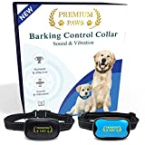 Premium Paws Dog Bark Collar Advanced Intelligence Anti Bark Dog Collar. Stop Dogs