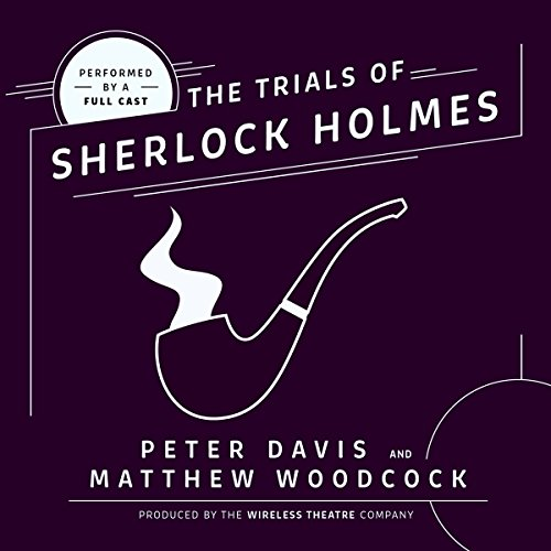 The Trial of Sherlock Holmes audiobook cover art