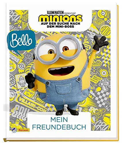 Minions - Auf der Suche nach dem Mini-Boss: Mein Freundebuch: Eintragbuch (Minions 2)