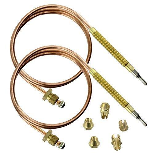 universel kit de thermocouple et fixations 900 mm, Lot de 5