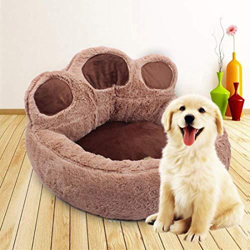 ITODA Hundeschlafplatz Rutschfestes Hundebett Hundesofa Extra Weich Haustierbett Warme Hundematratze Haustier Schlafplatz Abwaschbares Katzenbett Rund Hundematte Tierbett für Kleine/Mittlere Hunde