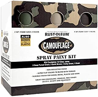 aervoe camo spray paint