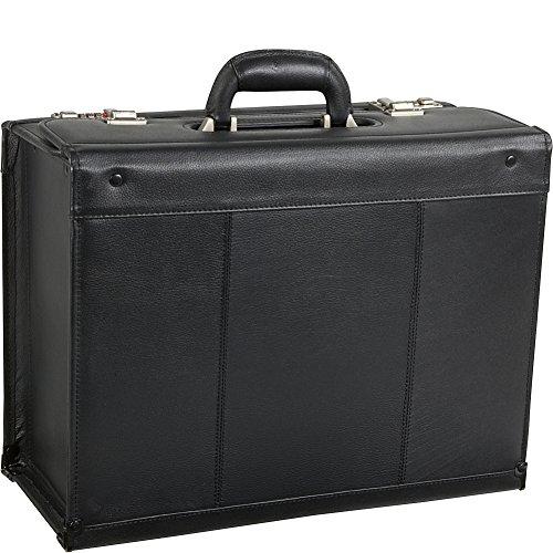 Black Leather Pilot Case (#1853-0)