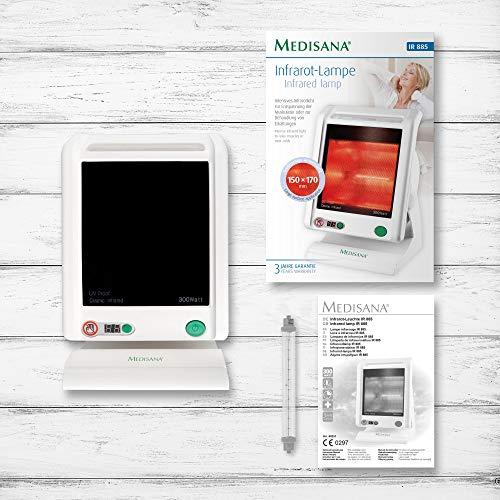 Medisana IR 885 Infrarot-Wärmelampe 300 Watt – Infrarotleuchte zur Behandlung von Bild 3*