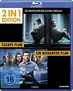 Ein riskanter Plan/Escape Plan - 2 in 1 Edition [Blu-ray]