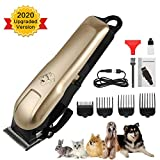 Best Pet Hair Clippers - HeiYi Pet Clipper for Dogs Thick Hair, Professional Review