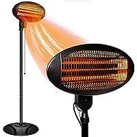 Ziothum Outdoor Heater Electric Infrared Patio Heater