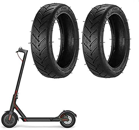 2 Piezas Ruedas de Repuesto Compatible con Patinete xiaomi M365 y Pro Scooter eléctrico, Ruedas Patinete xiaomi m365 neumático de reemplazo de 8.5 ...