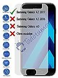Protector de Pantalla Cristal Templado Vidrio 9H para Samsung Galaxy A3 2017 - Todotumovil