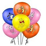 Caigaodz Party balloon decoration 12PCs/20pcs Winnie the Pooh balloon cartoon animal pet theme birthday party decoration balloon shower children toys (Ballon Size : 8pcs, Color : Mix)